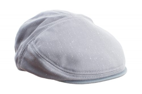 Grey Speckled Flat Cap