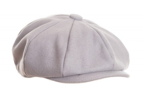 The Gazette Grey Flat Cap